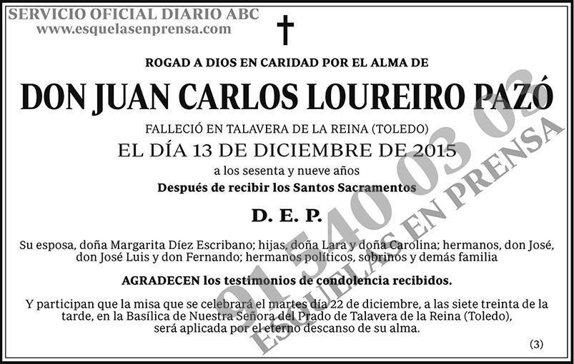 Juan Carlos Loureiro Pazó